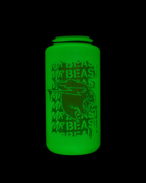 MrBeast 'Stamp' 32 oz Wide Mouth Glow in the Dark Nalgene