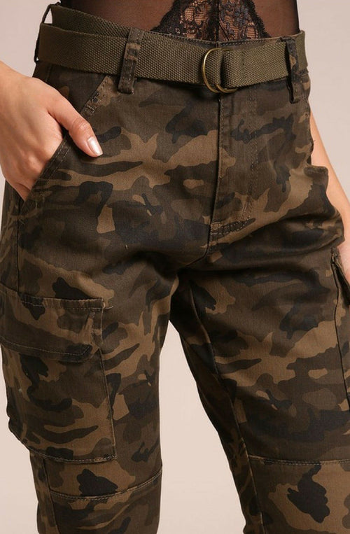 Tactical Belted Cargo Joggers - LoveSylvester