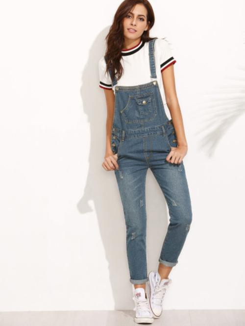 Denim Overalls - LoveSylvester