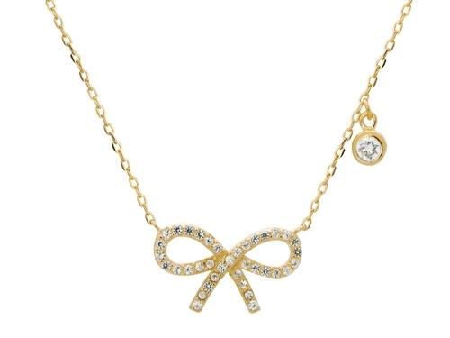 18k Studded Bow - LoveSylvester