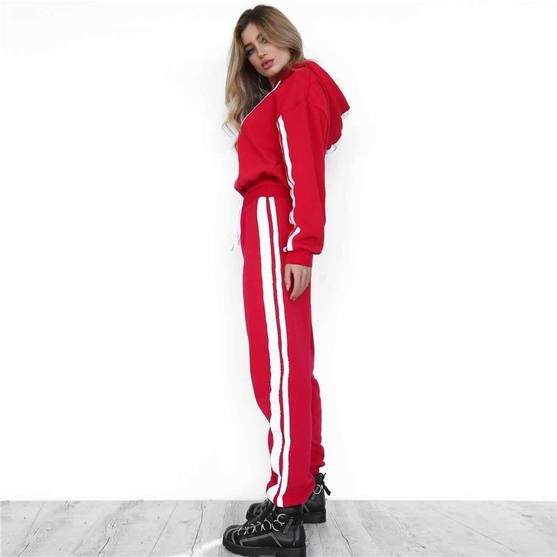 Striped Sports Tracksuit - LoveSylvester