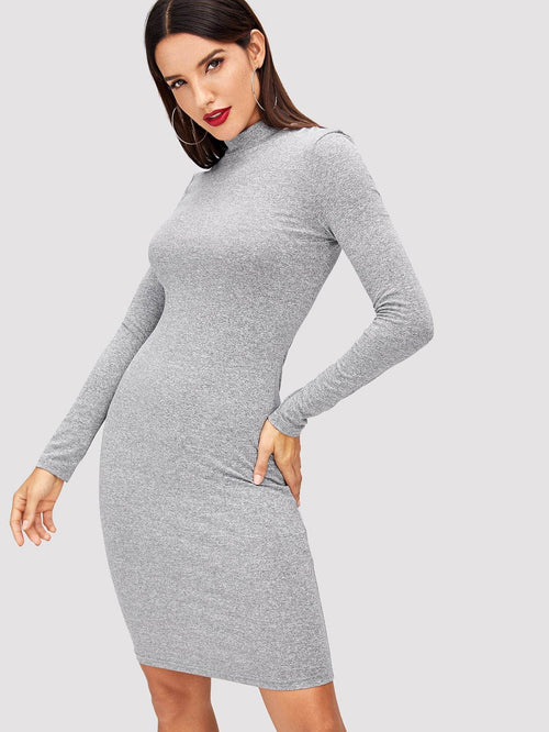 Collared Knit Dress - LoveSylvester