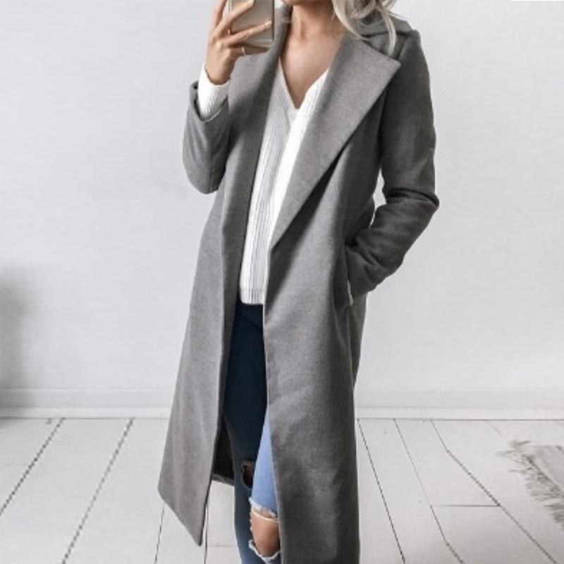 Long Wool Coat - LoveSylvester