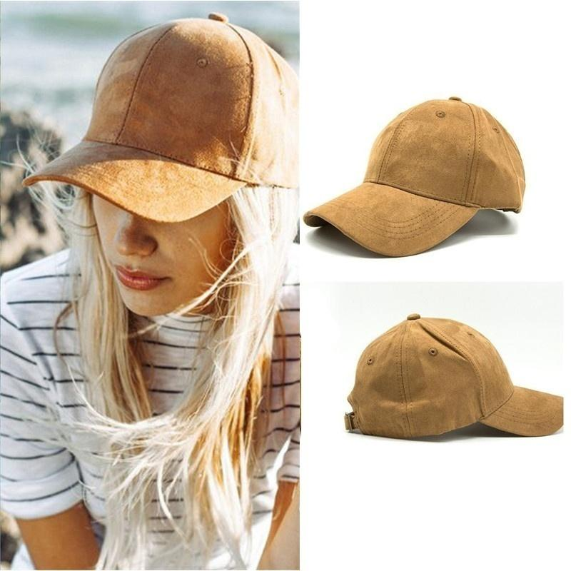 Suede Baseball Caps - LoveSylvester