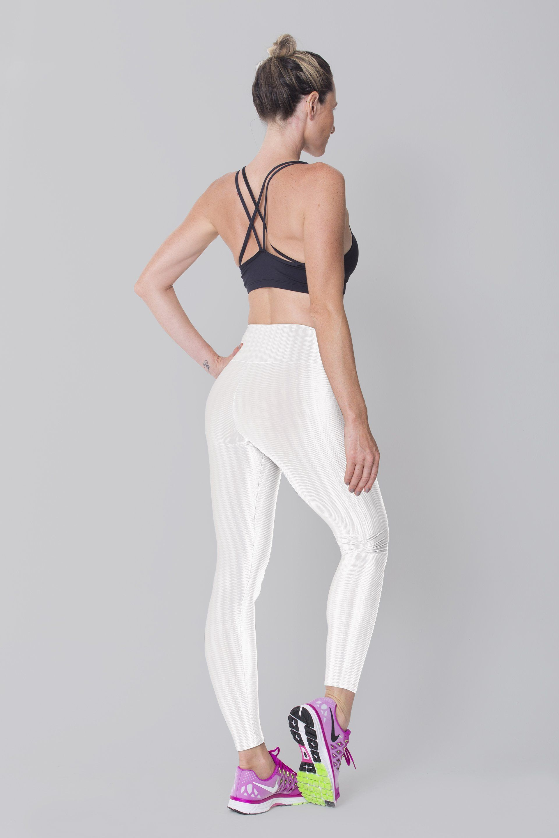White Disco Leggings - LoveSylvester