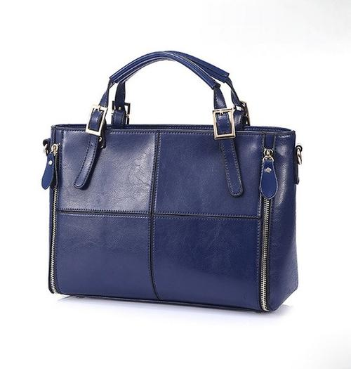 Cross Leather Handbag - LoveSylvester