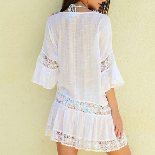 White Lace Cover-up - LoveSylvester