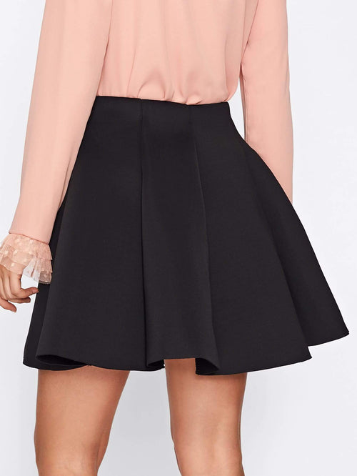 Box Pleated Skirt - LoveSylvester