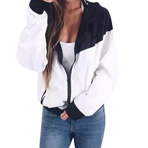 Jacket - Hooded B&W Sport Jacket