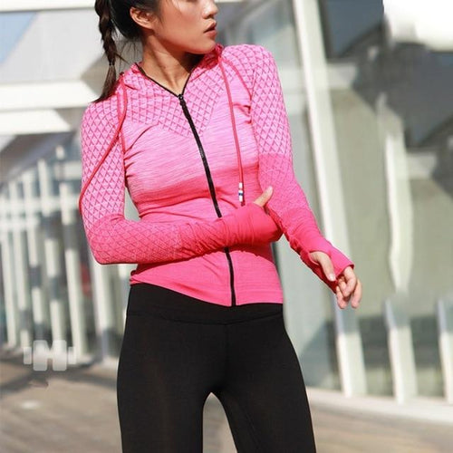 Breathable Workout Zip-Up - LoveSylvester
