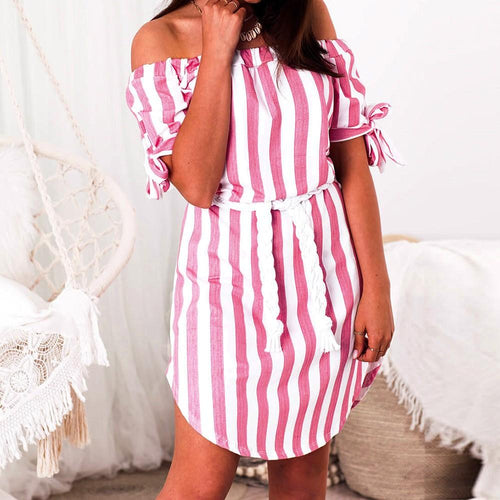 Dress - Off Shoulder Loose Party Dress