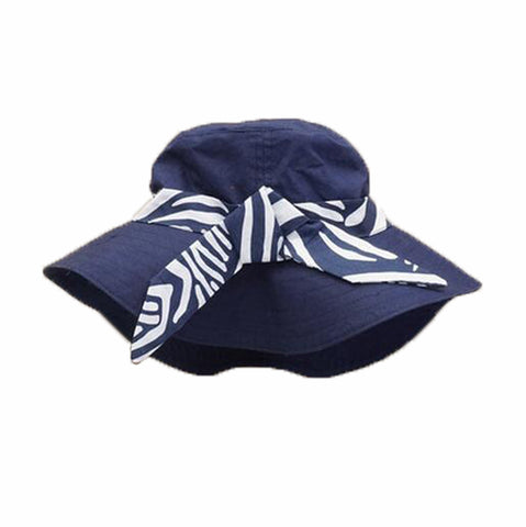 2ba92f6278f Summer Baby Girl Caps Cotton Sun Hat For 2-3 Years Baby Navy