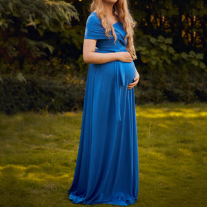 Maternity Full Wrap Convertible Dress