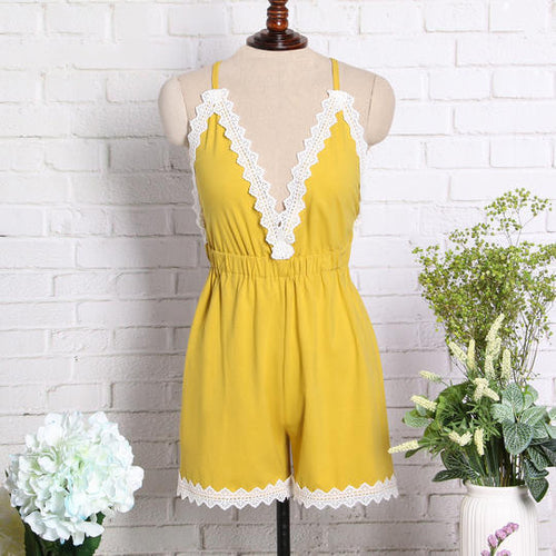 Fashion Summer Women Jumpsuit