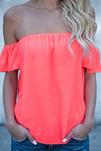 Strapless  Flounce  Smocked Bodice  Plain Shirts&Blouses