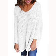 Maternity V-Neck Knitted Jumper