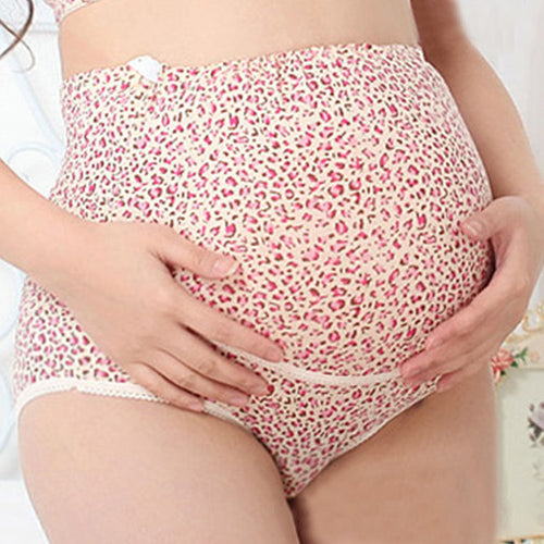 Maternity High Waist Abdomen Supportive Adjustable Underwear