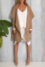 Lapel  Snap Front  Belt  Plain Coats