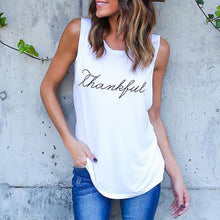 Letter Print Tank Top