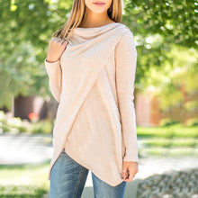 Irregular Long Sleeve Pullover