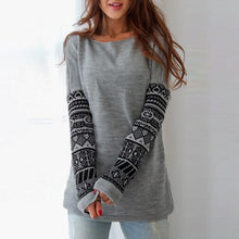 Casual Tribal Printed Sweatshirts