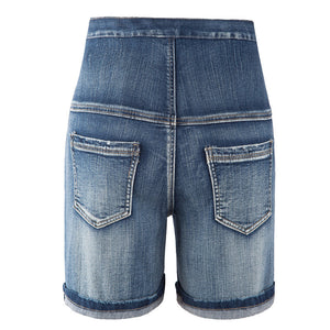 Maternity VILOFT Ripped Jeans Shorts
