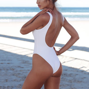 Bikini One-Piece Swimwear With Chest Pad