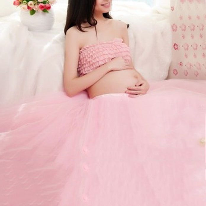 Maternity Top & Tulle Dress Sets