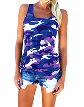 Camouflage Sleeveless Top