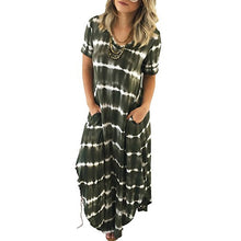 Irregular Hem Short Sleeve Dress