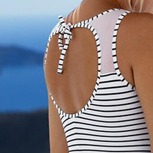 Maternity  Stripes One-Piece Swimsuit