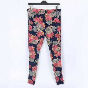 Maternity Floral Print Abdomen Supportive Pants