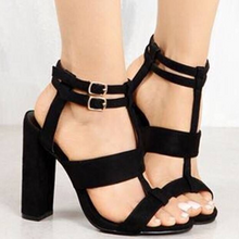 Large Size Open Toe High Heel Sandals
