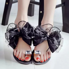 Rhinestone Women's Slip-On Sandals