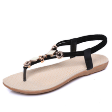 Daily PU Elastic Band Casual Sandals