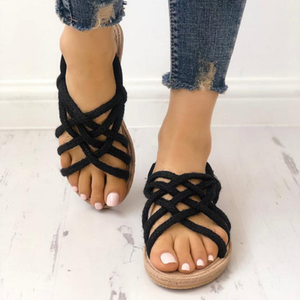 Casual Flat Heel Holiday Sandals