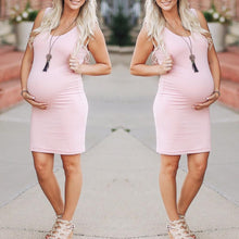 Maternity Knee-Length Dress