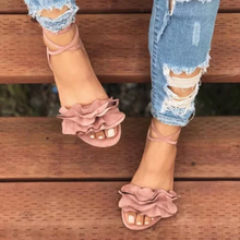 Fashion Cute Flower Women Sexy Sandals