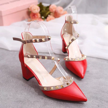 Elegant Adjustable Buckle Strap Women Dress Sandals