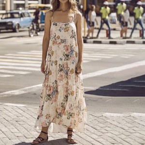 Maternity Floral Summer Dress
