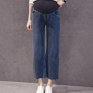 Maternity Casual Abdomen Supportive Jeans
