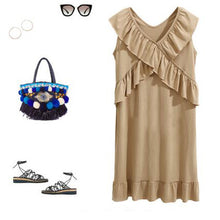 Maternity Casual Sleeveless Dress