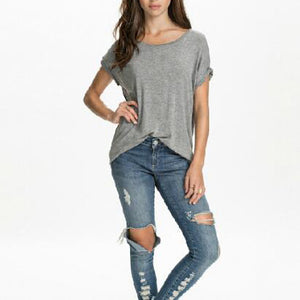 Maternity Round Neck T-Shirt