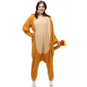 Charmander Pokemon Go Onesie Union Suit Pajama