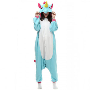 Blue Pegasus Onesie Union Suit Pajama