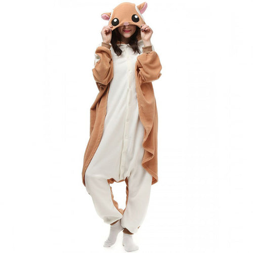 Flying Squirrel Onesie Union Suit Pajama