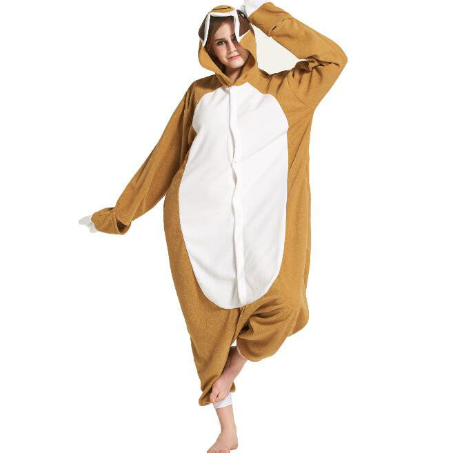 Sloth Onesie Union Suit Pajama