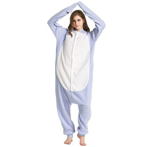 Shark Onesie Union Suit Pajama