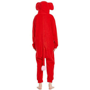 Elephant Onesie Union Suit Pajama