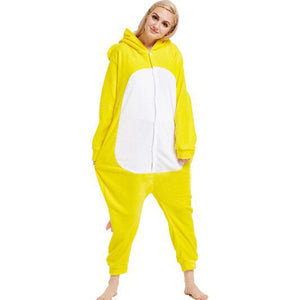 Yellow Elephant Onesie Union Suit Pajama